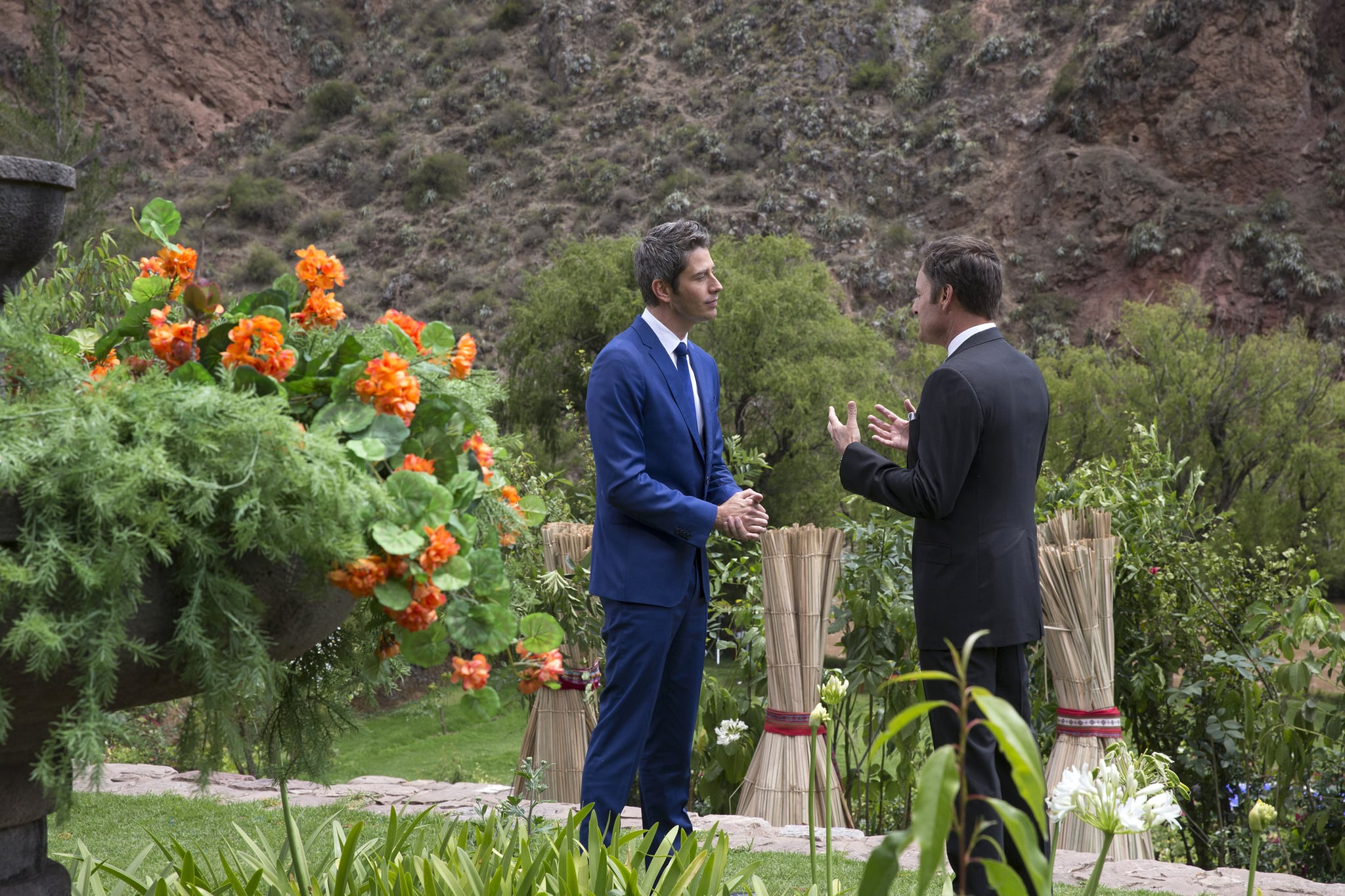 THE BACHELOR - Episode 2210 - The compelling live three-hour television event will begin with America watching along with the studio audience as Arie Luyendyk Jr.s journey to find love comes to its astonishing conclusion. The Bachelor prepares to make one of the most difficult choices of his life, having narrowed down the field to two women with whom he is madly in love - Becca K. and Lauren B. - and told both of them that he loves them. Who does Arie, after much soul-searching, see as his future wife? Find out on the season finale of The Bachelor, MONDAY, MARCH 5 (8:00-11:00 p.m. EST), on The ABC Television Network. (ABC/Paul Hebert)ARIE LUYENDYK JR., CHRIS HARRISON