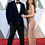 Dwayne Johnson and Lauren Hashian Are Cooking Up Cute PDA at the Oscars