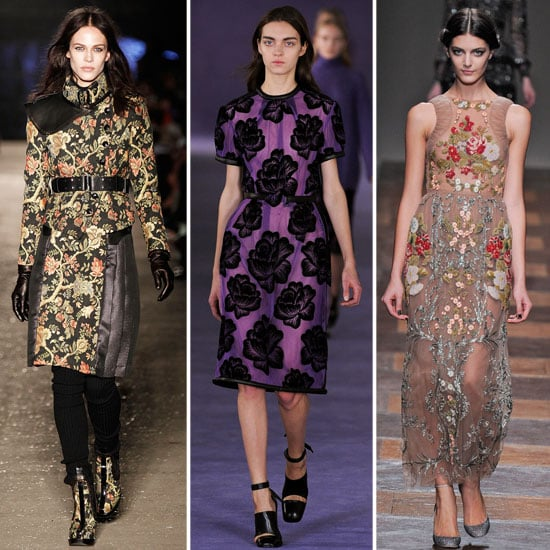 Floral Prints For Fall 2012
