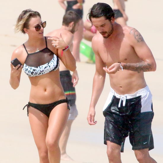 Kaley Cuoco Wearing a Bikini in Mexico | Pictures