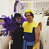 Yzma and Kronk From The Emperor's New Groove