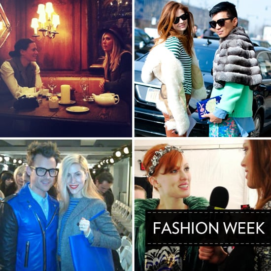 The Best Twitter Pictures from 2012 Fall New York Fashion Week: See Garance Dore, Bryan Boy, Brad Goreski and more