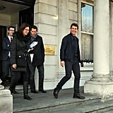 Tom Cruise Promoting Oblivion in Dublin | Pictures