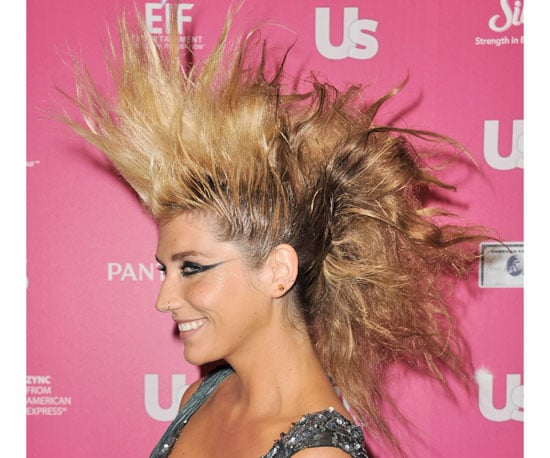 New Pictures of Ke$ha With an Enormous Fauxhawk at the 2010 Us Weekly Hot Hollywood Event 2010-11-19 11:00:23