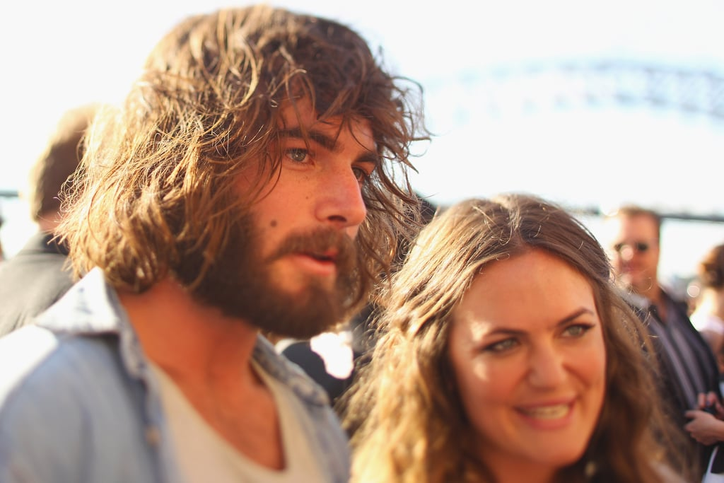 Winners are grinners. Angus and Julia Stone.