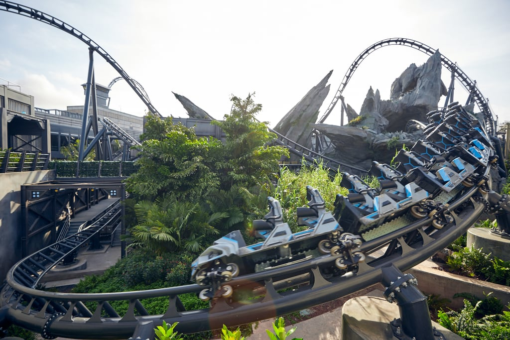 The Unique Ride Vehicles Add to the Attraction's Thrill Level