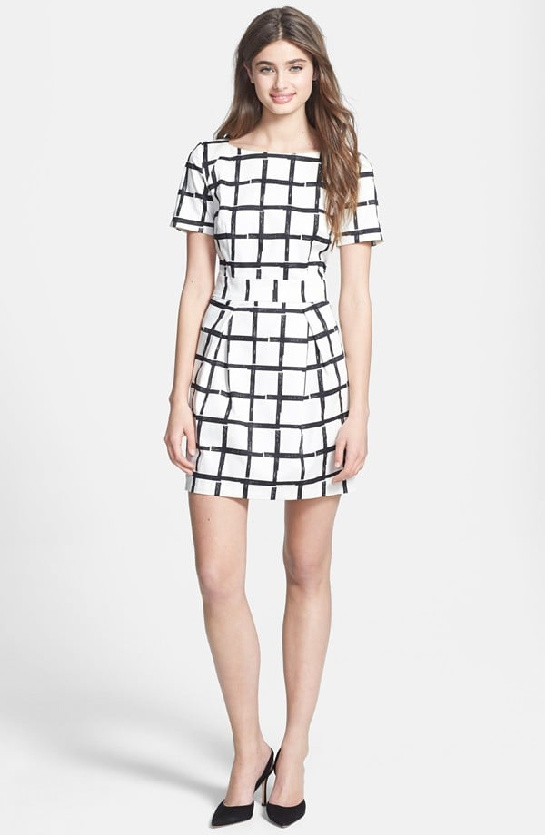 French Connection Checked Dress