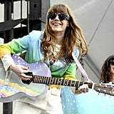 Jenny Lewis took the stage on Sunday at the Outside Lands Music and Arts Festival in San Francisco.