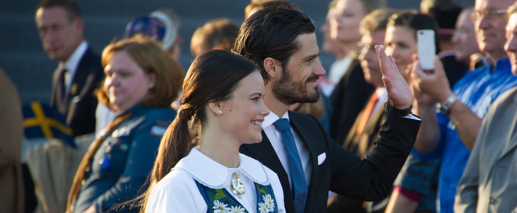 Sweden's Royal Family at National Day Celebrations 2015