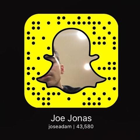 Joe Jonas on Snapchat: joseadam