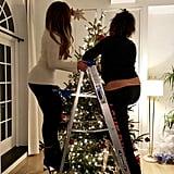 Jennifer Lopez and Alex Rodriguez Christmas Tree