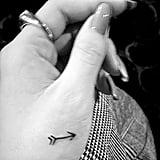 Selena Gomez's Arrow Tattooo