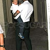 Photos of the Beckhams in LA