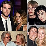 "Barely Legal: Celebrities Who Got Married as Teenagers Miley Cyrus is engaged to Liam Hemsworth! The 19-year-old singer and actress has been with the 22-year-old Australian Hunger Games hottie for three years, after they met on the set of The Last Song. While Miley and Liam have been together for some time, 19 is much younger than the average age of American brides, which is 26. But if Miley has a short engagement, she'll join a group of other celebrities who said ""I do"" before their 20th birthdays. Here's a list of other celebrities who got married as teenagers."