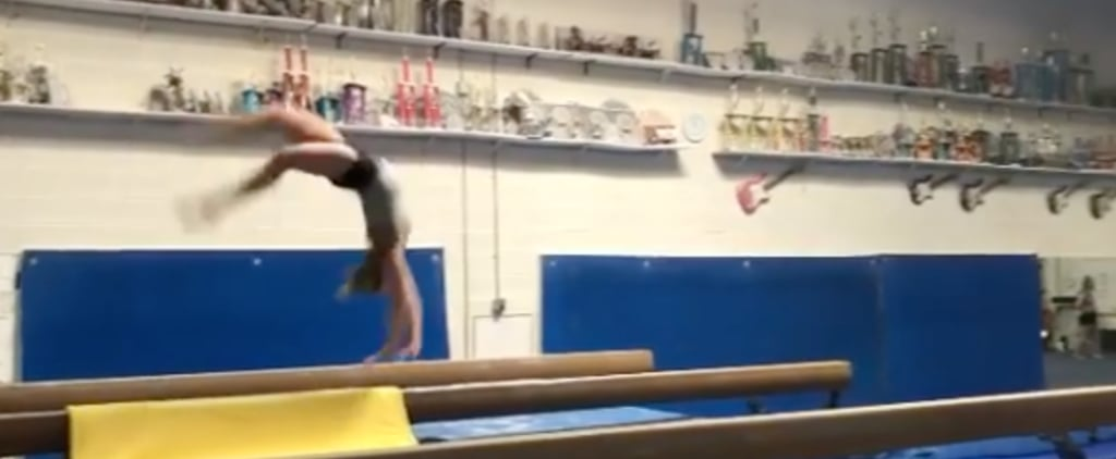 MyKayla Skinner New Combination of Gymnastics Skills on Beam
