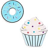 Cupcake & Doughnut Brooches