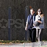 Carla Bruni and Nicolas Sarkozy are a happy family with baby Giulia Sarkozy.