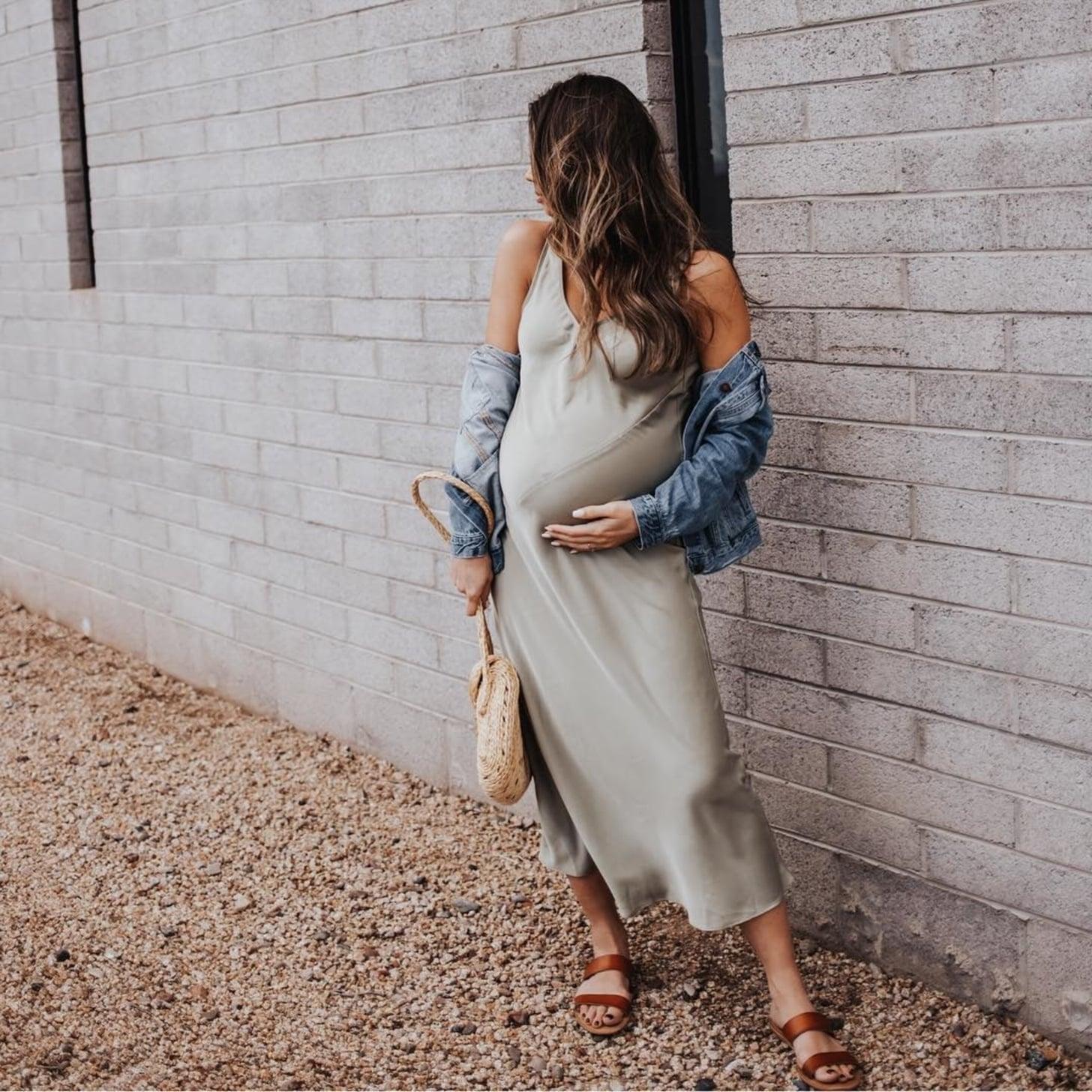 1244787b1dddf Outfits For Pregnant Women | POPSUGAR Fashion