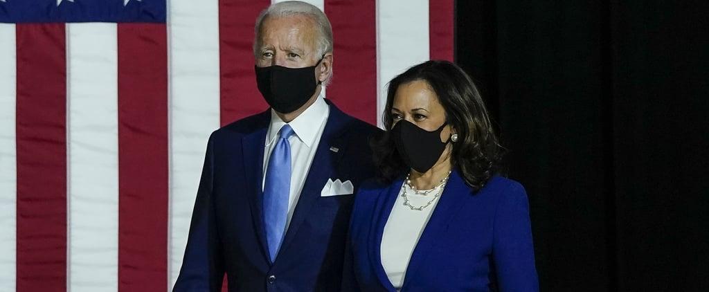 See Joe Biden and Kamala Harris's Presidential Victory Video