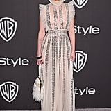 Rumer Willis at the 2019 Golden Globes Afterparty