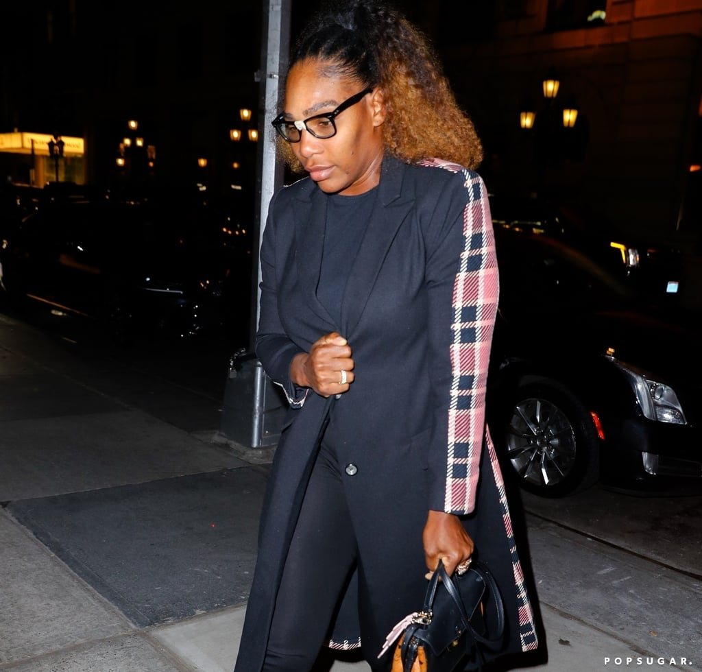 Serena Williams's Plaid Coat With Meghan Markle 2019