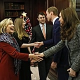 They Shook Hands With Hillary and Chelsea Clinton