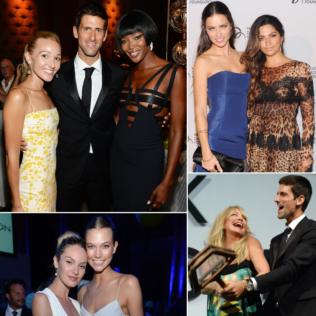 Naomi Campbell at Novak Djokovic Foundation Dinner | Picture