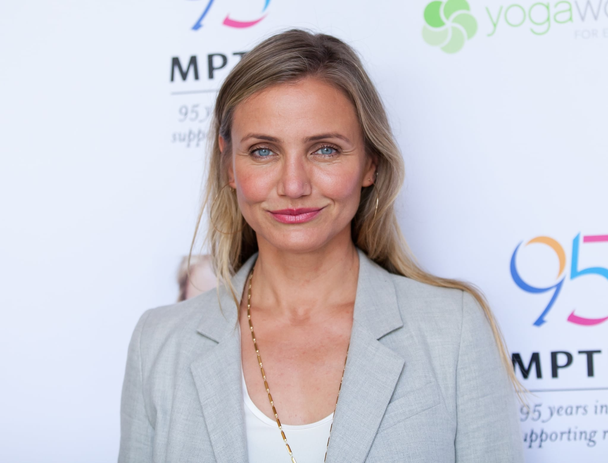 WOODLAND HILLS, CA - JUNE 10:  Cameron Diaz attends the MPTF Celebration for health and fitness at The Wasserman Campus on June 10, 2016 in Woodland Hills, California.  (Photo by Tibrina Hobson/Getty Images)