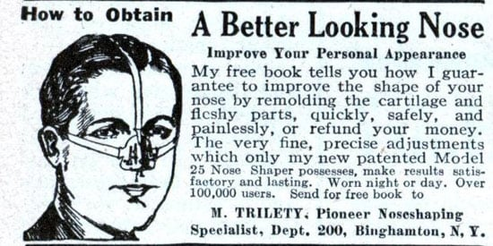 Flashback: The Nose Brassiere