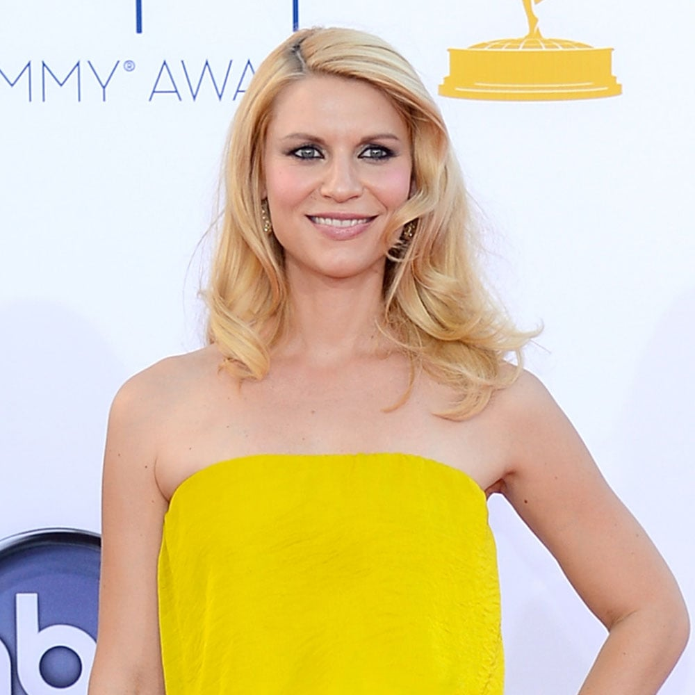 Picture of Pregnant Claire Danes's Hair and Makeup at the 2012 Emmy Awards