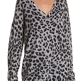 Equipment Dee Leopard-Print Cashmere Sweater