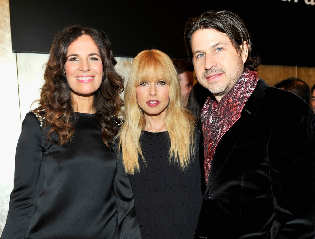 Rachel Zoe hung out with Roberta Armani and husband Rodger Berman at the Giorgio Armani event on Friday.