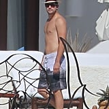 Joshua Jackson soaked up the sun in Cabo over Thanksgiving week.