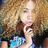 This girl's curly blond hair is more than enviable. Source: Instagram user naturallyobsessed_