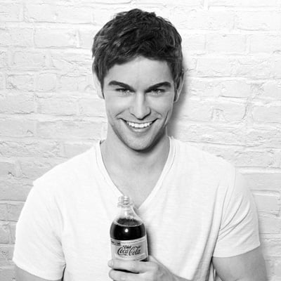Chace Crawford Pictures Shooting Diet Coke Campaign