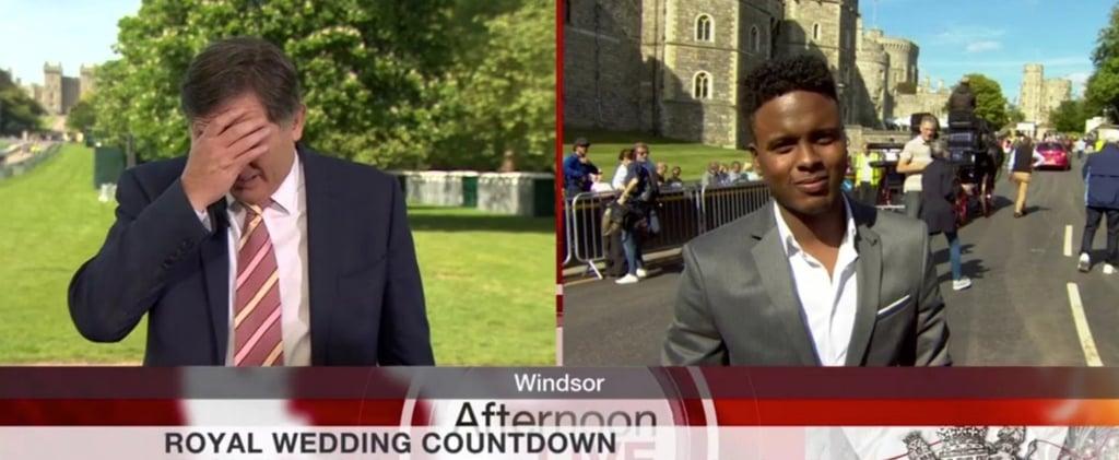 BBC Reporter Simon McCoy on the Royal Wedding