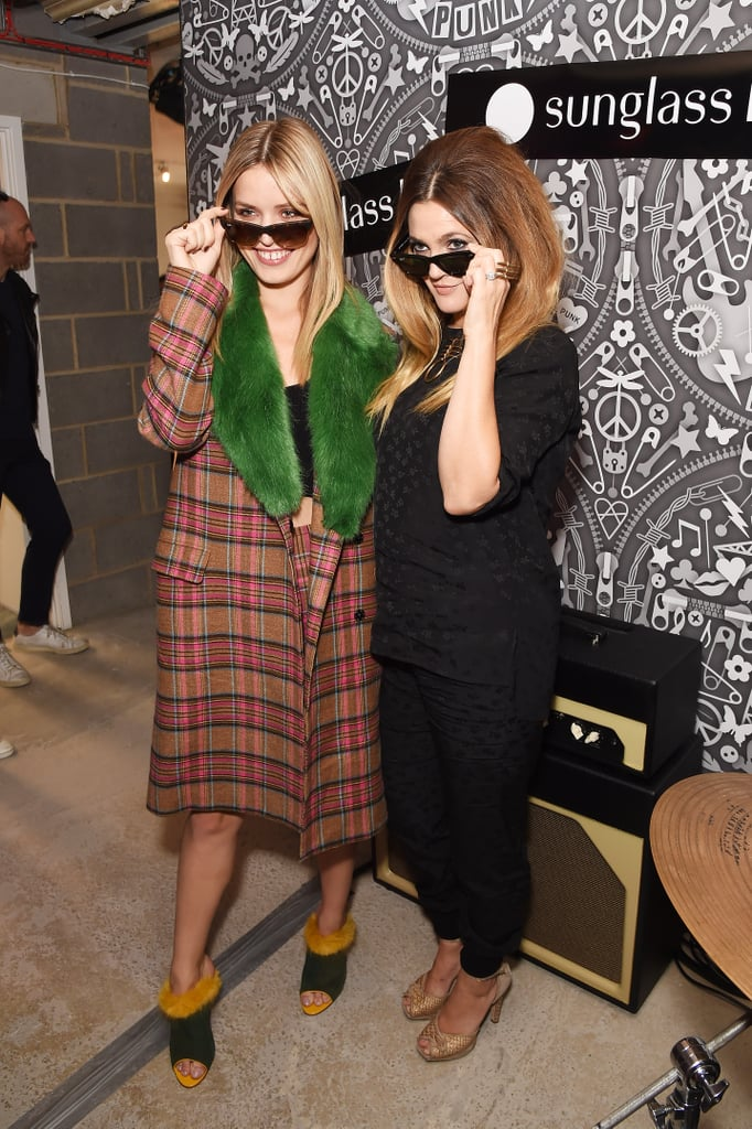 Drew Barrymore and Georgia May Jagger Sept. 2015   Pictures