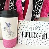 Unicorn Travel Mug ($16)