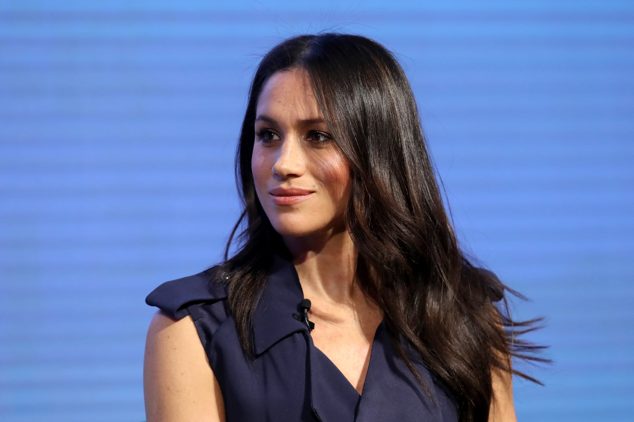 LONDON, ENGLAND - FEBRUARY 28: Meghan Markle attends the first annual Royal Foundation Forum held at Aviva on February 28, 2018 in London, England. Under the theme 'Making a Difference Together', the event will showcase the programmes run or initiated by The Royal Foundation.  (Photo by Chris Jackson - WPA Pool/Getty Images)