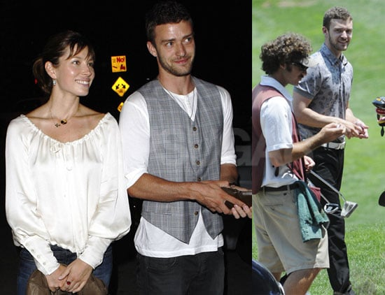 Photos of Jessica Biel and Justin Timberlake at the Opening of Club Kress in LA
