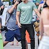 Zac Efron Baywatch Movie Set Pictures