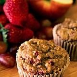 No-Sugar Fruity Muffins With Scrambled Eggs