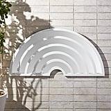 Pop Art White Wall Mirror ($299)
