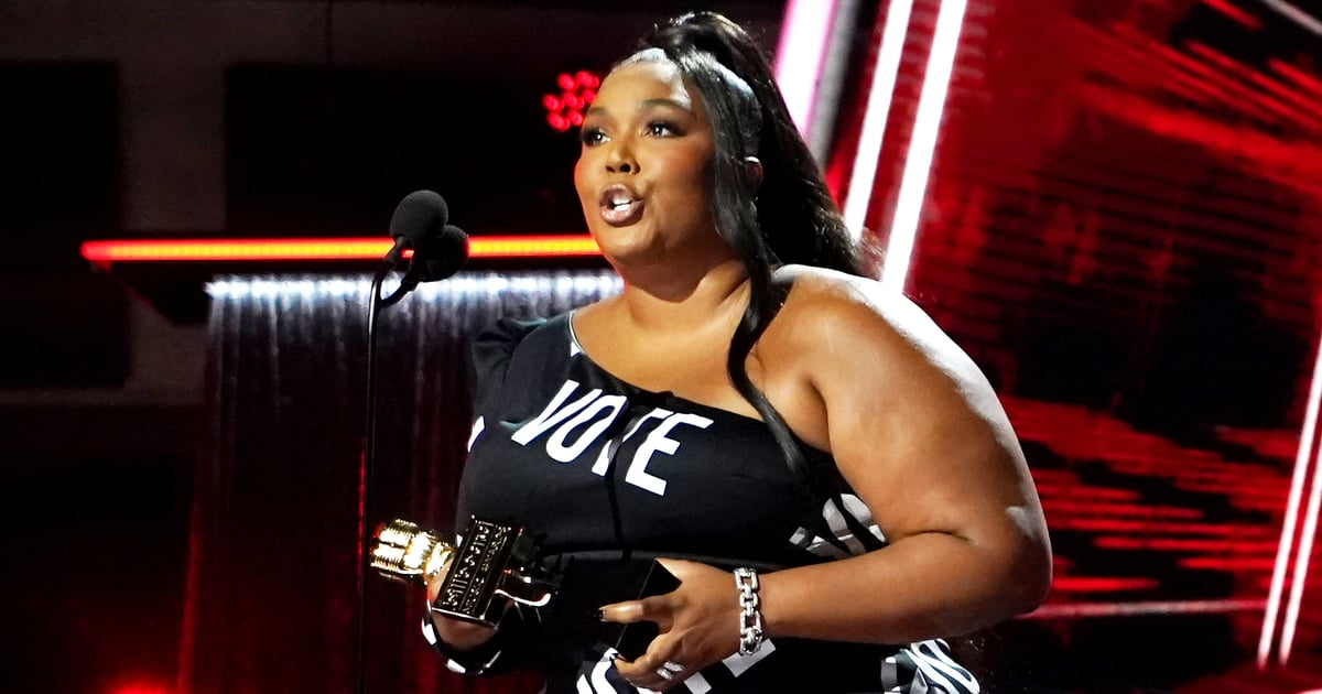 "No One Is More Empowering Than Lizzo in This Christian Siriano ""VOTE"" Dress"