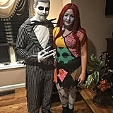Jack Skellington and Sally From The Nightmare Before Christmas