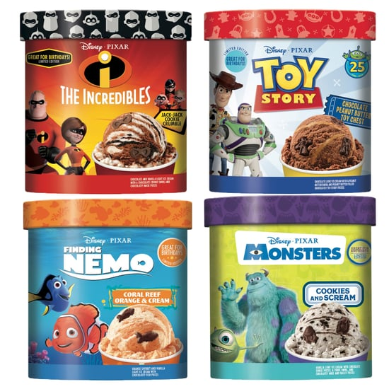 Disney Pixar Ice Cream Includes Finding Nemo and More