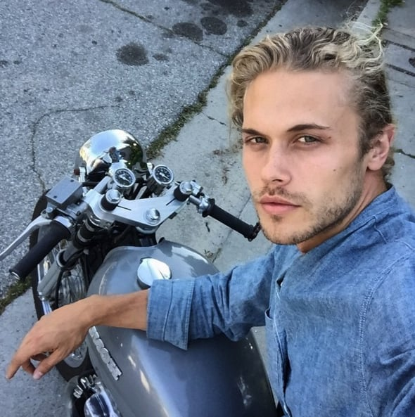 """If you found yourself swooning over the hot guy in Selena Gomez's new """"Hands to Myself"""" music video, well, you weren't the only one. The supersexy man in question is LA-based model Christopher Mason, whose Instagram feed is filled with one gorgeous selfie after another. Oh, and in between hot shirtless shots, he also posts incredibly cute snaps (and videos!) with his daughter. For your daily dose of eye candy, check out some of Christopher Mason's sexiest Instagram pictures, then see your unofficial hot guy calendar for 2016!"""