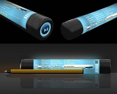 The Musipen Concept MP3 Player