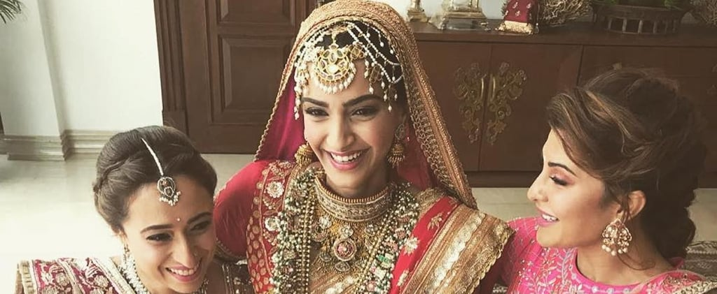 Sonam Kapoor's Wedding Dress