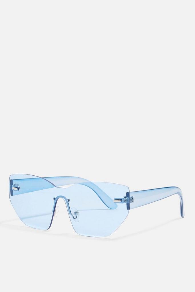 Topshop Macy Full-Visor Sunglasses